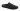 Paul svart toffel i kritstreckstyg