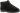Evert svart tvättbar textilsko,kardborrar