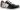 Yvette svart snörsko med dragkedja