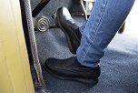 Egon svart loafer i skinn med superstötdämpning
